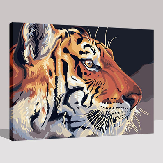 The Proud Tiger - DIY Painting by Numbers Kit