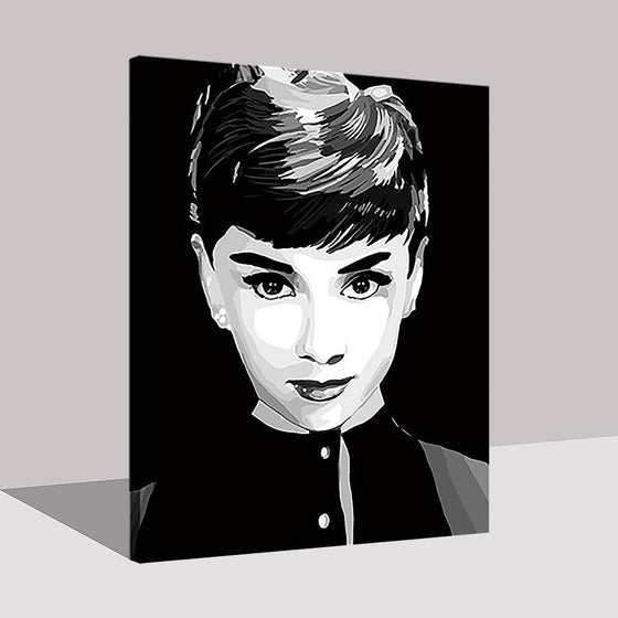 Audrey Hepburn - DIY Painting by Numbers Kit
