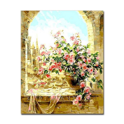 Painting by Numbers Canvas Wall Art | Do-It-Yourself Painting Wall ...