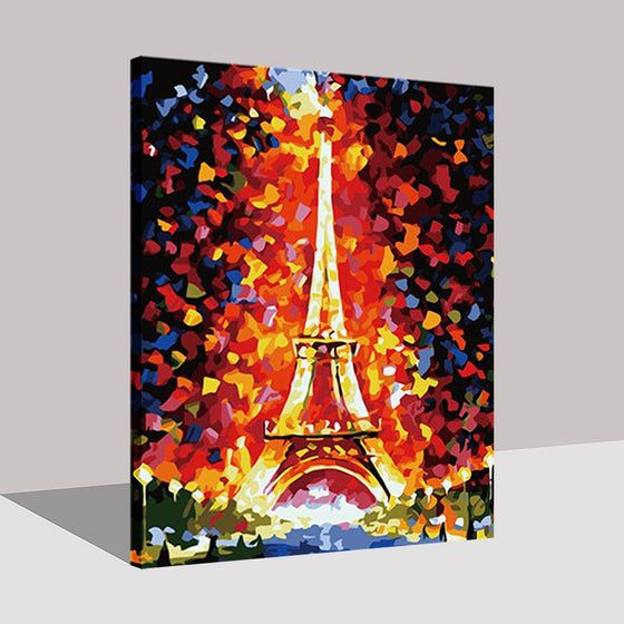 Paris Tower - DIY Painting by Numbers Kit