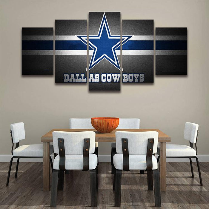 Sports Themed Wall Art Idea