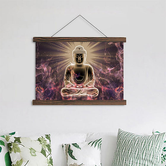 Limited Edition Zen Buddhism - Canvas Scroll Wall Art
