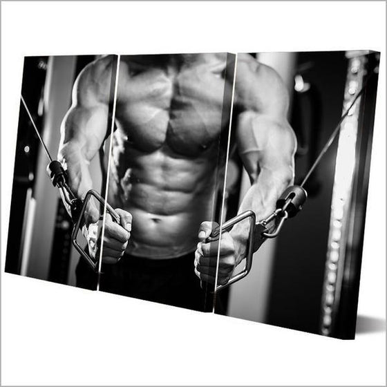 Abdominal Muscles Inspiration Wall Art Decor
