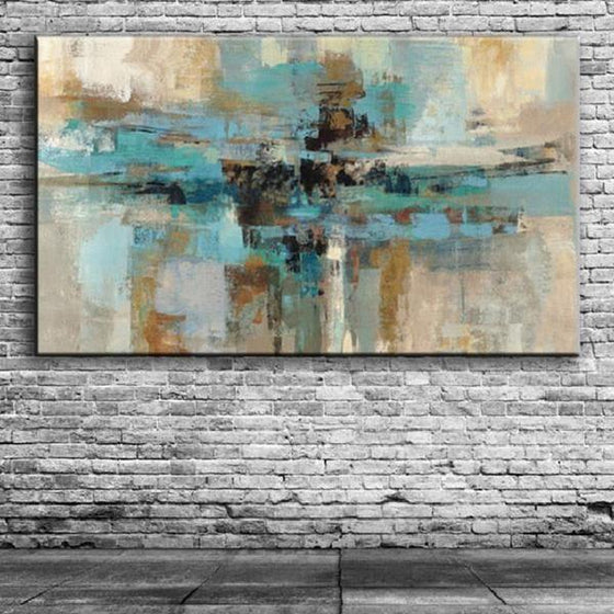 Abstract Hand Painted Canvas Wall Art
