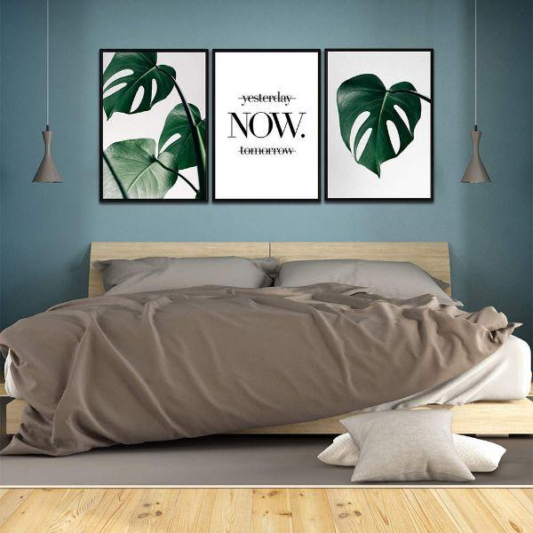 Act Now Motivational Canvas Wall Art Bedroom