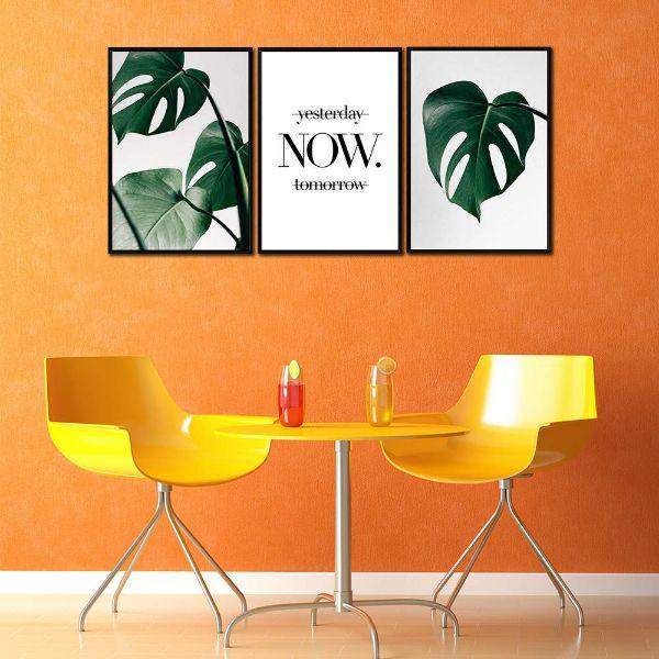 Act Now Motivational Canvas Wall Art Decor