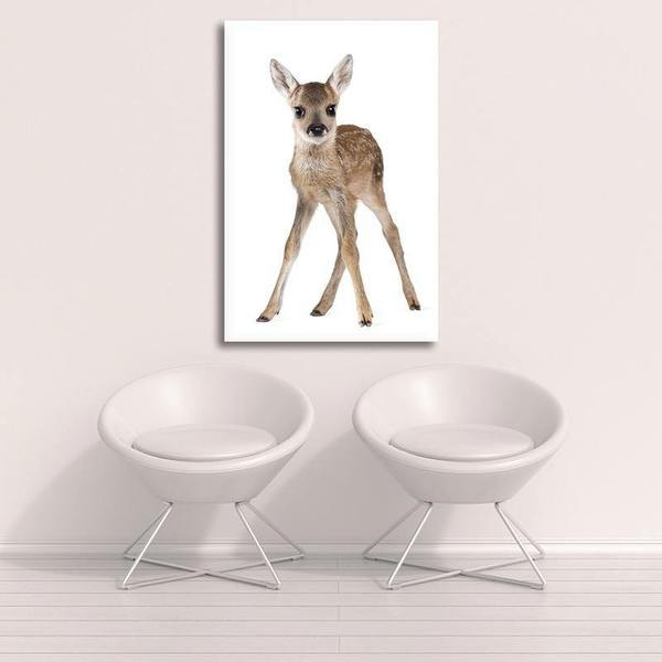 Adorable Doe Canvas Wall Art Decor