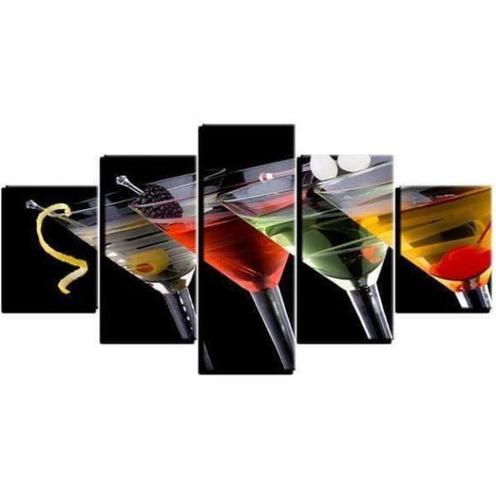 Cocktails D'alcool Canvas Wall Art Ideas