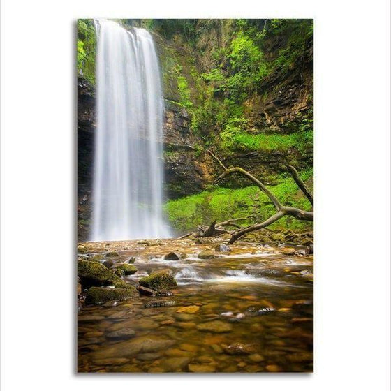 Alluring Clean Waterfalls Wall Art