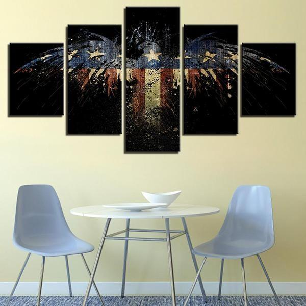 American Eagle Wall Art Canvases