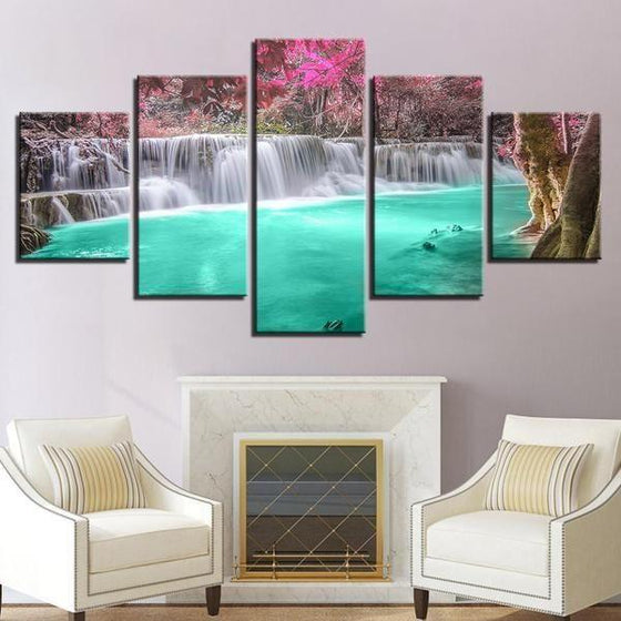 Animated Wall Art Waterfall Canvases