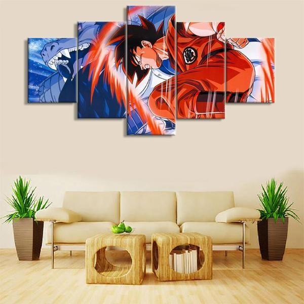 Anime Wall Art Idea