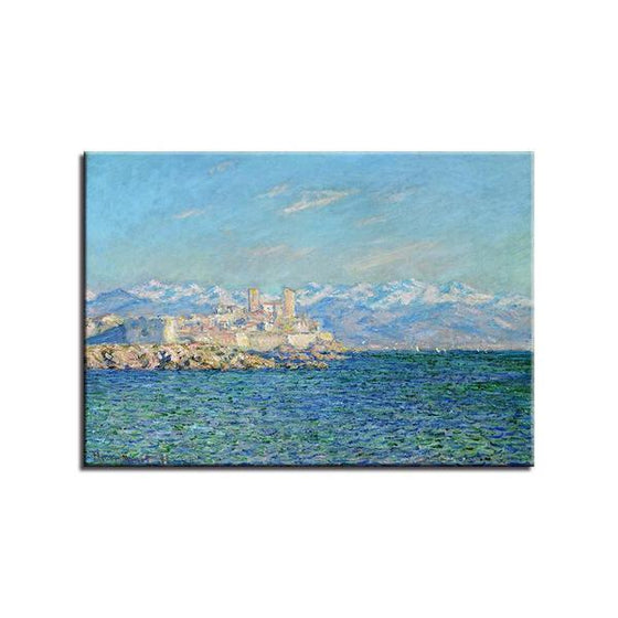Antibes Afternoon By Claude Monet Canvas Wall Art