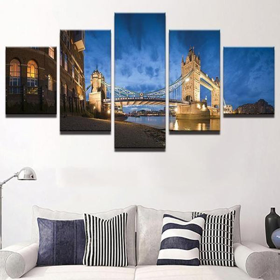 Architectural Wall Art Panels Canvas