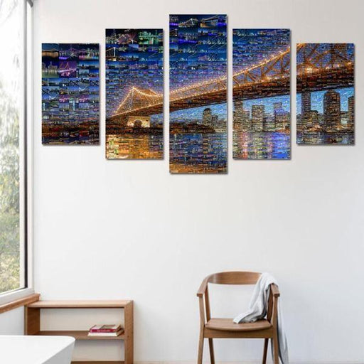 Split Panel Canvas Wall Art | Buy 2 or More Panel Pieces Wall Decor ...