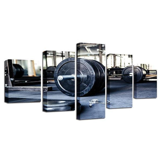 Barbell Wall Art Decor