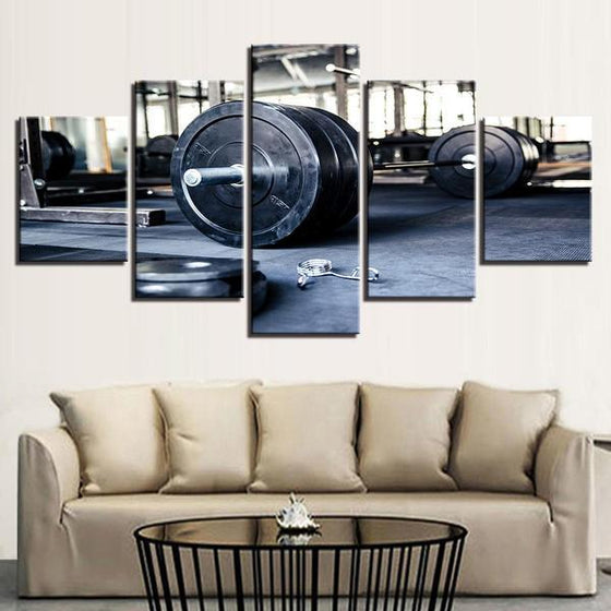 Barbell Wall Art