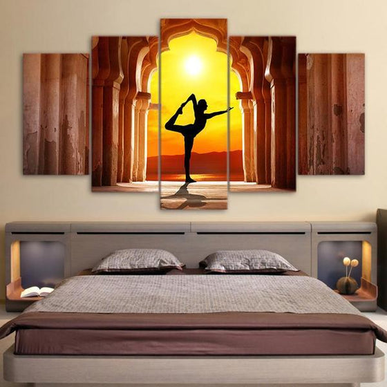 Basic Yoga Pose Wall Art