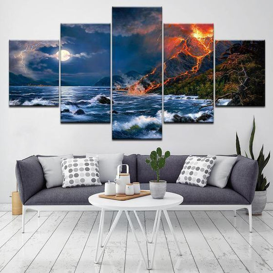 Beach Scene Wall Art Decor