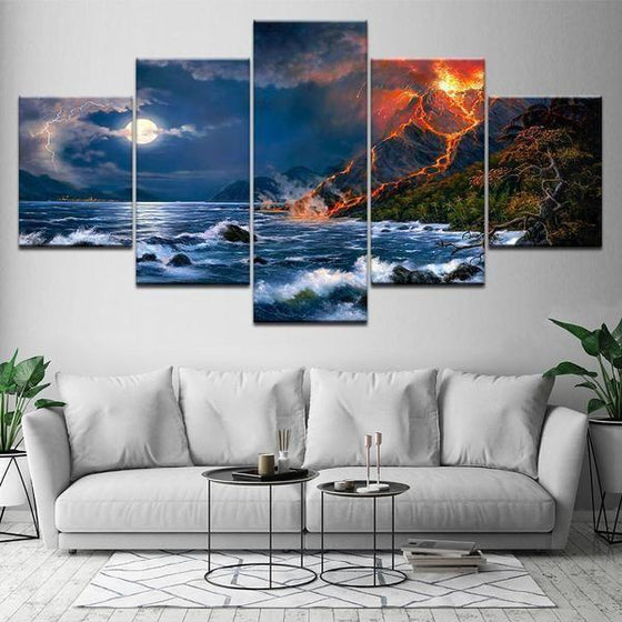 Beach Scene Wall Art Ideas
