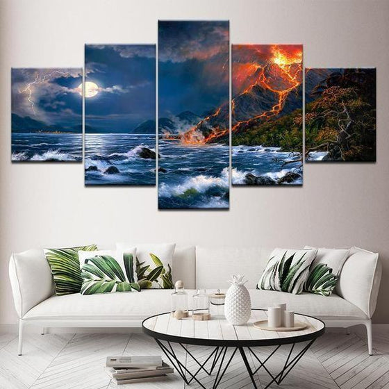 Beach Scene Wall Art
