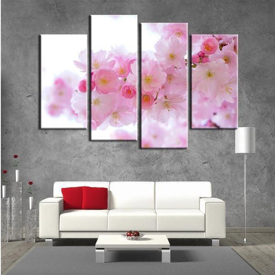 Black And White Flowers Wall Art