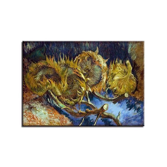 Blumen In Blauer By Vincent Van Gogh Canvas Print Wall Art Decor