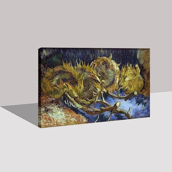 Blumen In Blauer By Vincent Van Gogh Canvas Print Wall Art Prints