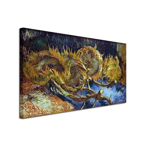 Blumen In Blauer By Vincent Van Gogh Canvas Print Wall Art Ideas