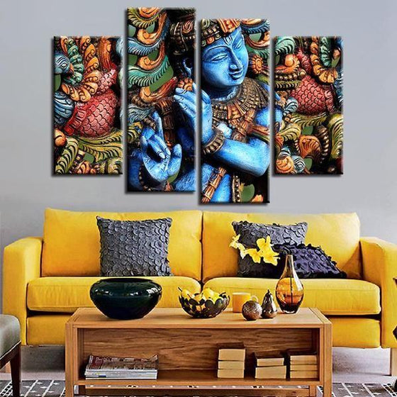Buddha Metal Wall Art Prints