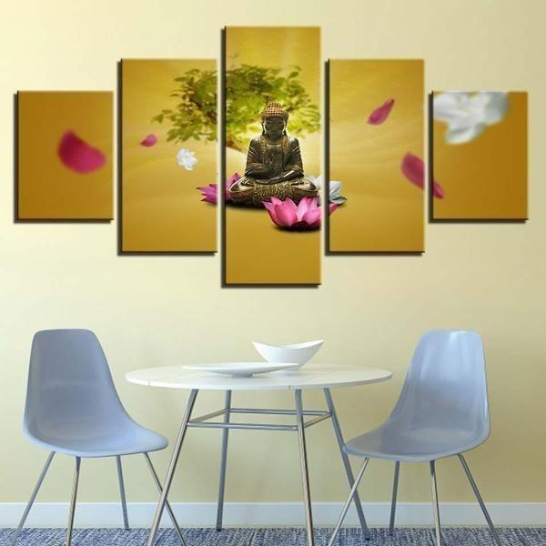 Buy Buddhism Wall Art Canvas