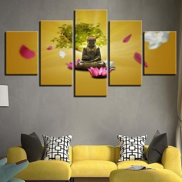 Buy Buddhism Wall Art Canvases