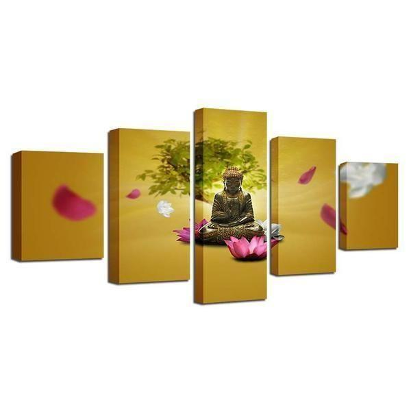 Buy Buddhism Wall Art Print