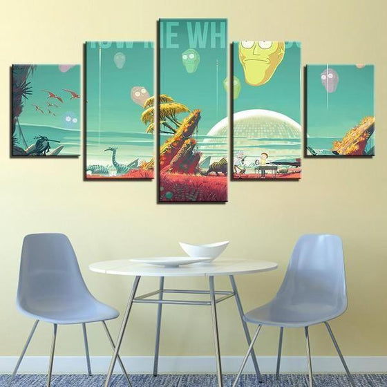 Buy Rick & Morty Wall Art Idea
