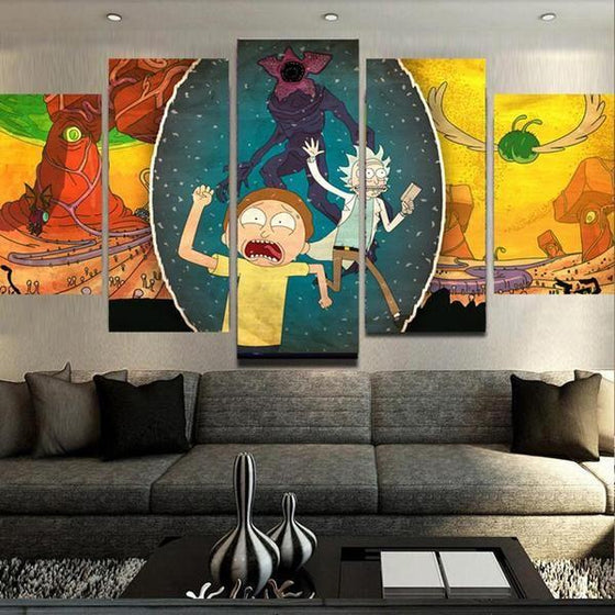 Buy Rick And Morty Wall Art Canvases