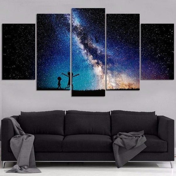 Buy Rick And Morty Wall Art Decors
