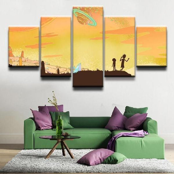 Buy Rick And Morty Wall Art Ideas