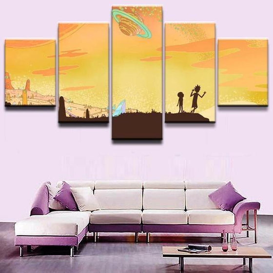 Buy Rick And Morty Wall Art Print