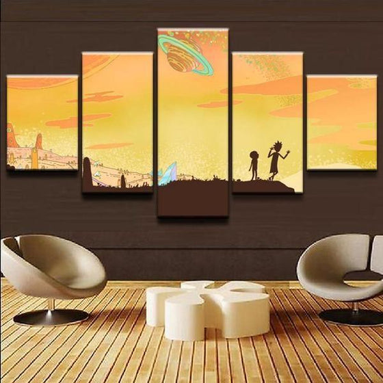 Buy Rick And Morty Wall Art Prints
