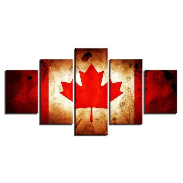 Canadian Flag Wall Art Decors