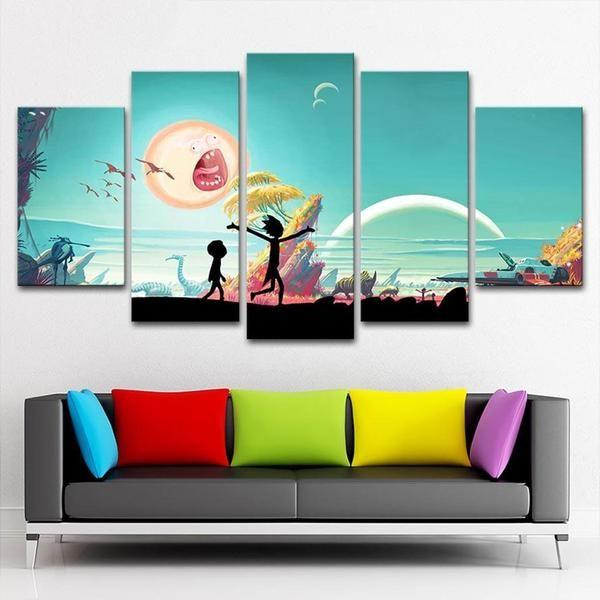 Canvas Prints Rick And Morty Decors