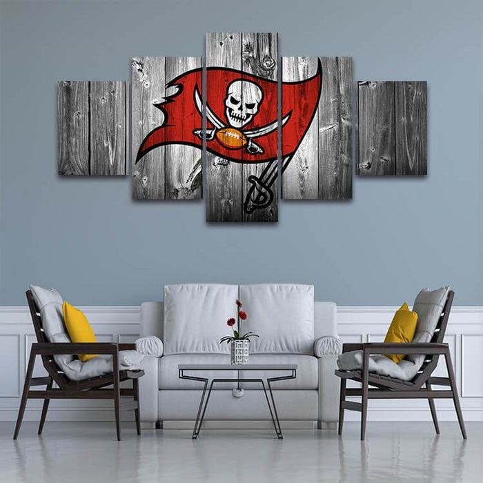 Sports Themed Metal Wall Art Canvas
