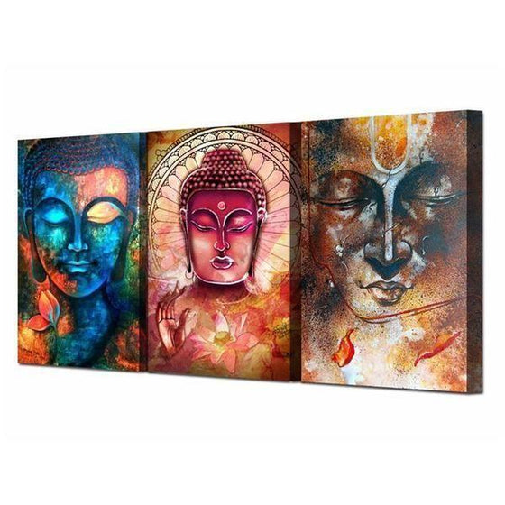 Canvas Wall Art Buddha Print