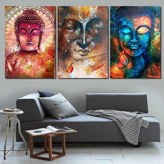 Canvas Wall Art Buddha