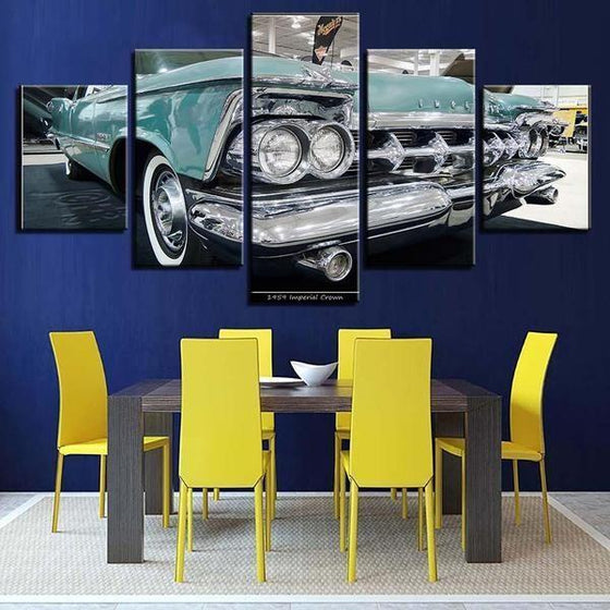 1959 Imperial Crown Canvas Wall Art Dining Room