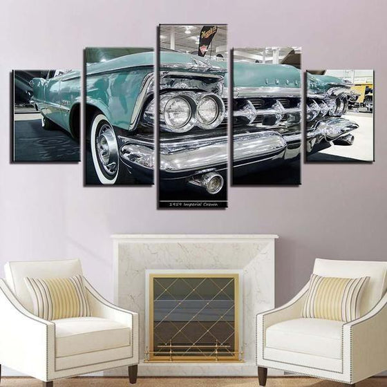 1959 Imperial Crown Canvas Wall Art Decor