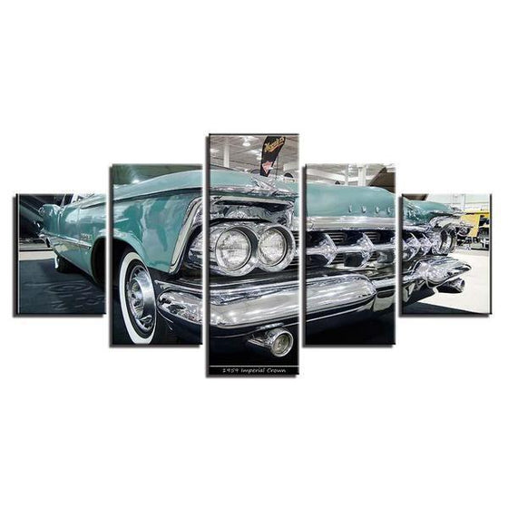 1959 Imperial Crown Canvas Wall Art Print
