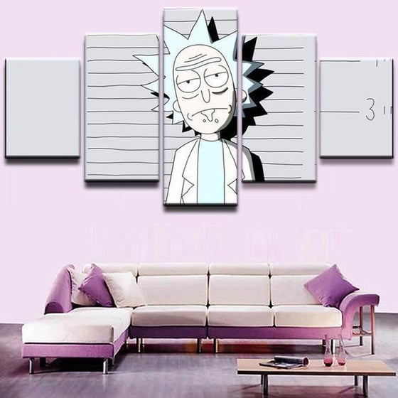 Canvas Wall Art Rick And Morty Decor