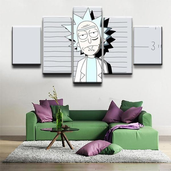 Canvas Wall Art Rick And Morty Decors