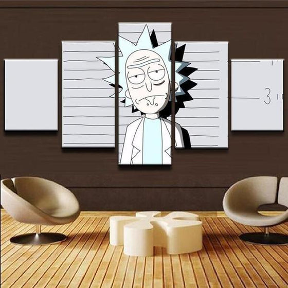 Canvas Wall Art Rick And Morty